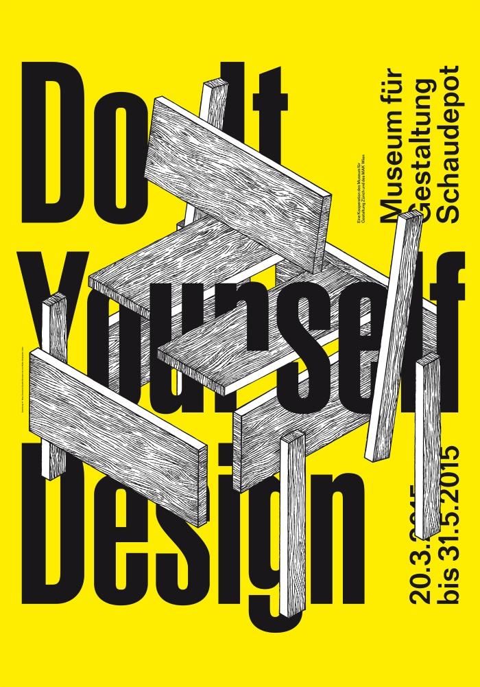 """Do It Yourself Design"""" at the Museum für Gestaltung, Zürich"""