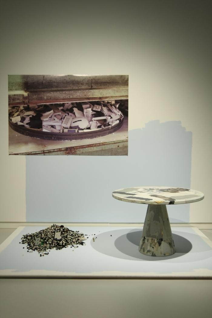 How We Work new Dutch Design Stedelijk Museum 's-Hertogenbosch Melting Pot Table Dirk vander Kooij