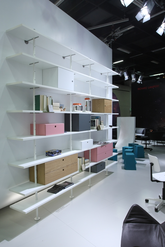 IMM Cologne 2015 Richard Lampert Eiermann Regal Frame Boxes Alexander Seifried