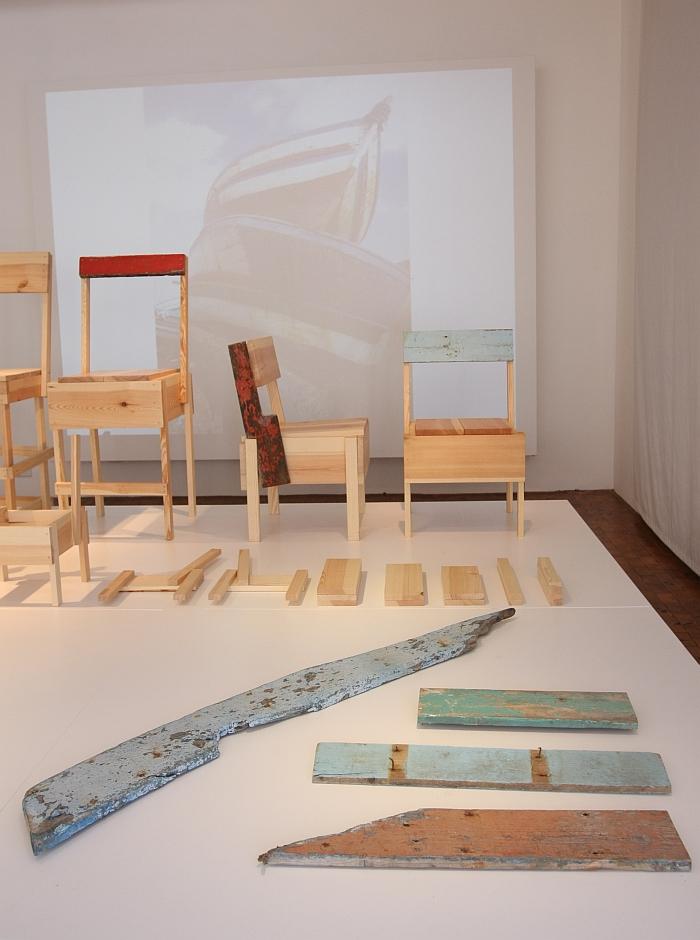 CUCULA Refugees Company for Crafts and Design Werkbundarchiv Museum der Dinge Berlin Lampedusa