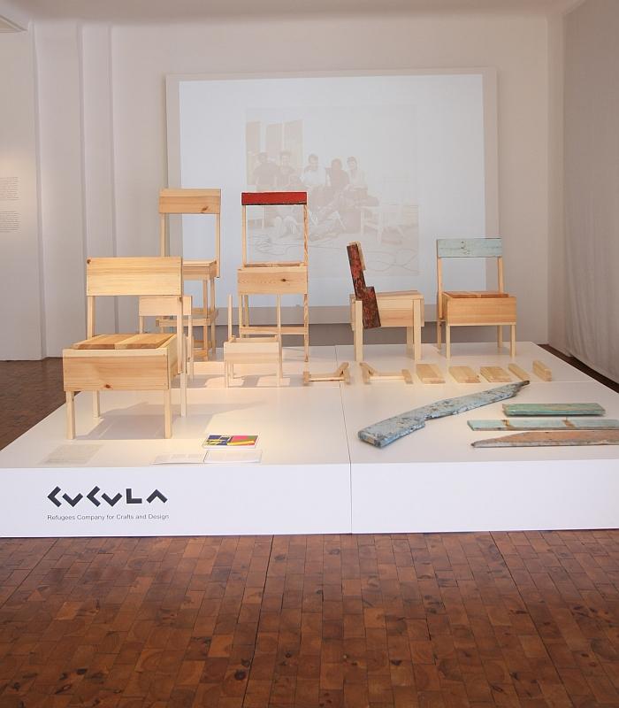 CUCULA Refugees Company for Crafts and Design Werkbundarchiv Museum der Dinge Berlin