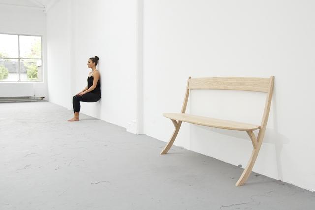 Leaning Bench Izabela Boloz