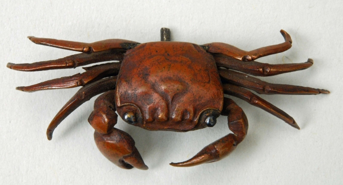 Menuki in shape of a crab
