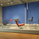 Untitled by Cindy Schmiedichen amongst s tables and chairs by Marcel Breuer, Anton Lorenz & Mies van der Rohe, as seen at 2.5.0.Object is Meditation and Poetry, Grassi Museum for Applied Arts Leipzig