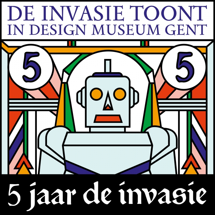 De Invasie on display Design Museum Gent