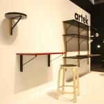 Kaari shelves by Ronan & Erwan Bouroullec for Artek, as seen at Milan Furniture Fair 2015