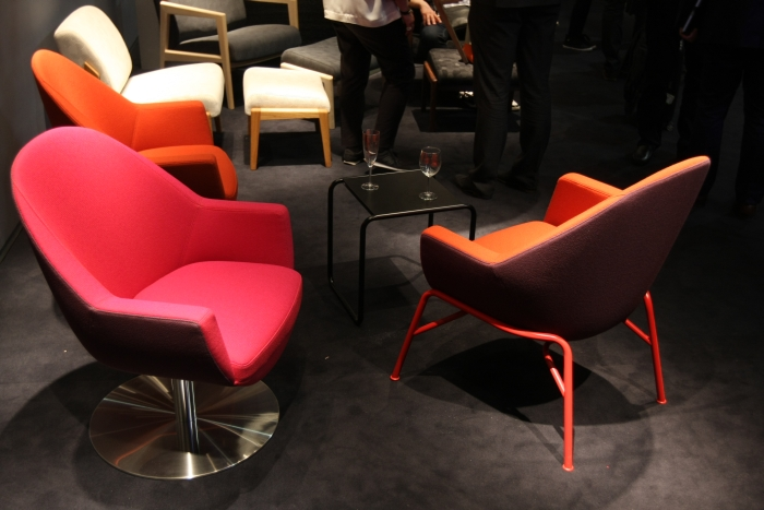 Programme S 830 Emilia Becker Thonet, as seen at Milan Furniture Fair 2015