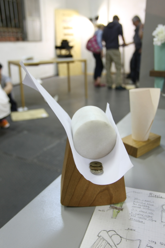 Ripple by Hiroyuki Ikeuchi, as seen at Ventura Lambrate, Milan 2015