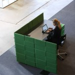USM Privacy Panels as a desk centred solution