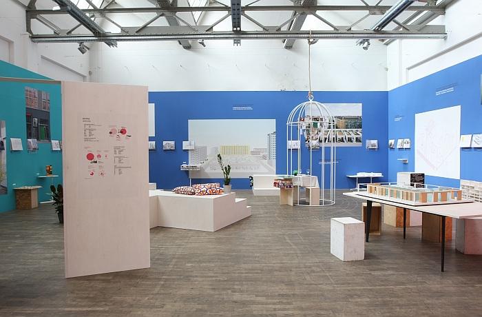 URBAN LIVING - Strategies for the Future at the Deutsches Architektur Zentrum DAZ, Berlin
