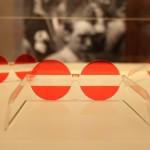 Austriennale sunglasses by Hans Hollein, as seen at USM - Rethink the Modular during Milan Design Week 2015