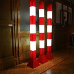Lichtstele A59 by Volker Albus, as seen at USM - Rethink the Modular during Milan Design Week 2015