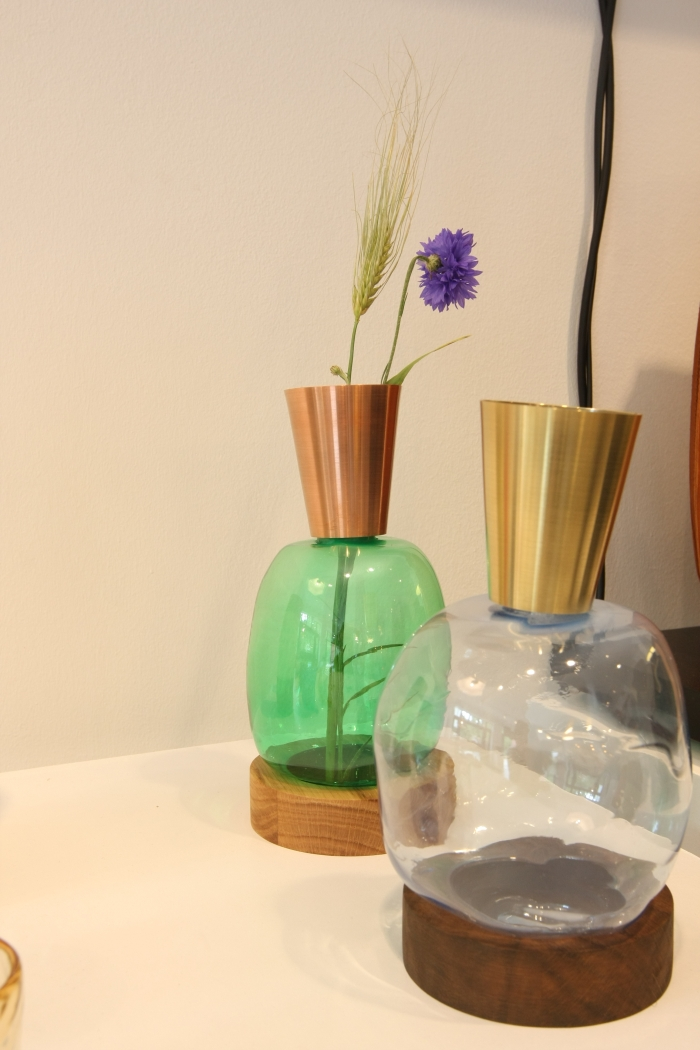 BLOW vases by Ruben der Kinderen, as seen at Contemporary Creation Processes in Design at DAD Galerie Berlin