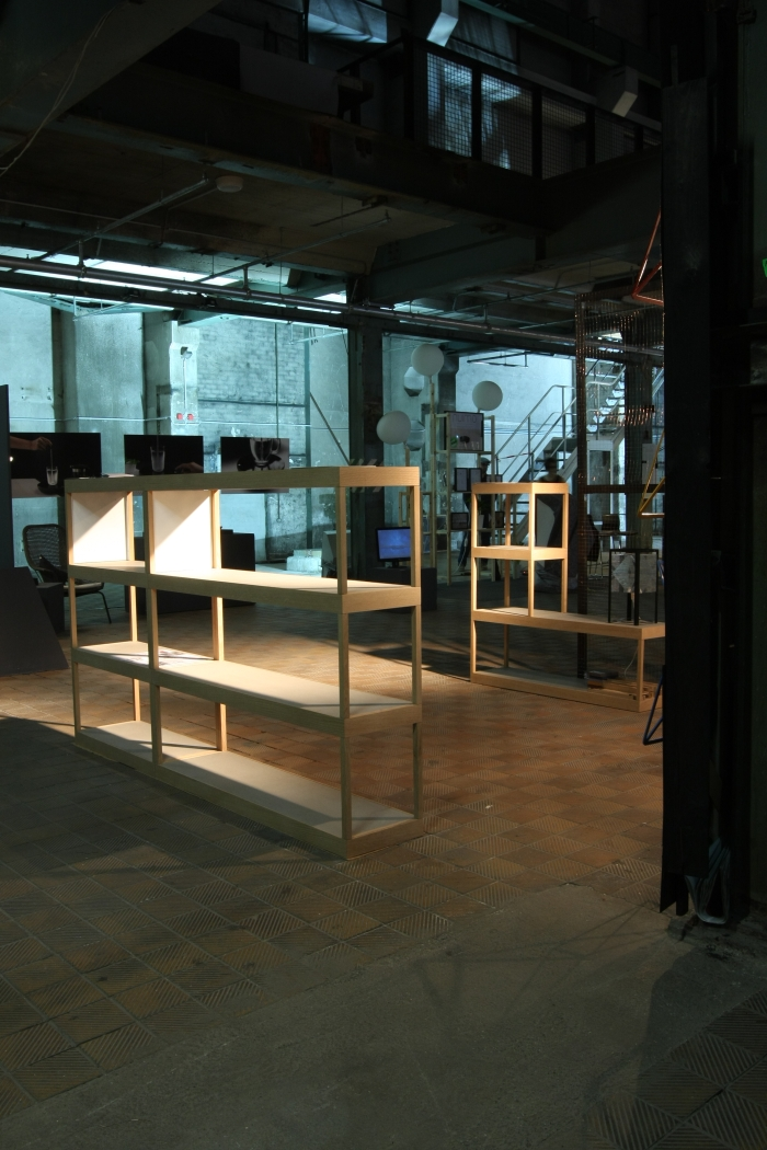 DMY Berlin 2015: SF Modular Shelving System by Philipp Beisheim