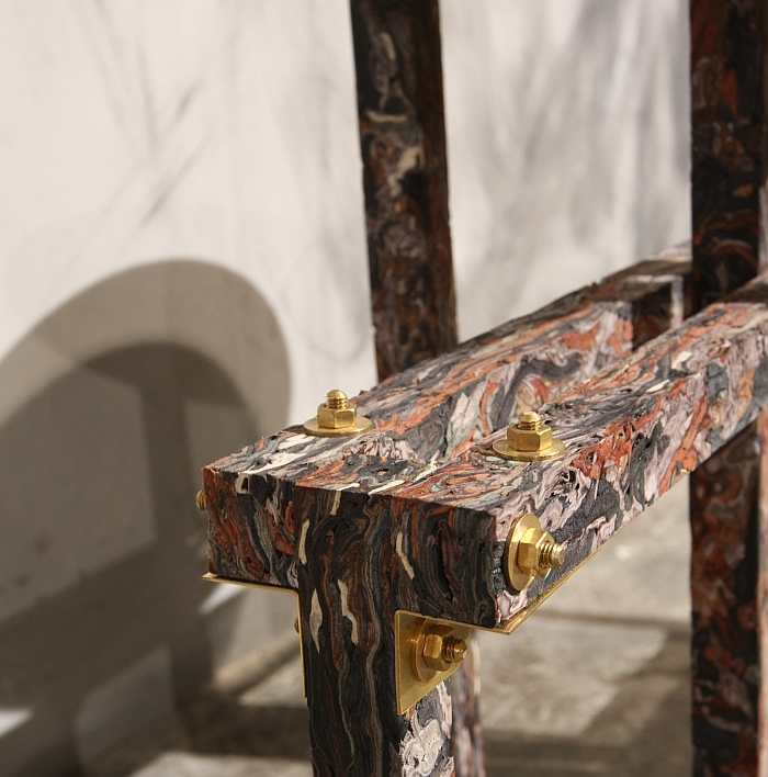 Structural Skin New material by Jorge Penades, as seen at DMY Berlin 2015