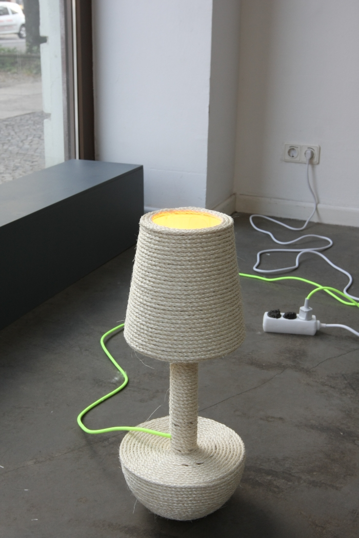 Catlights by Silvia Knüppel, as seen at Pet Market, Galerie erstererster, Berlin