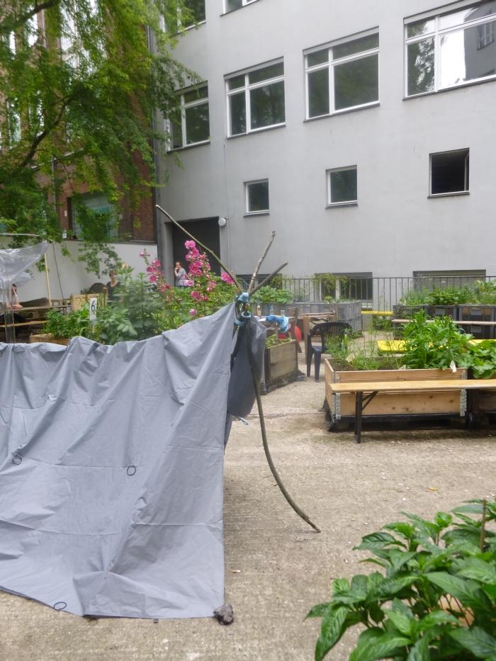 Universität der Künste Berlin Rundgang 2015 Knot a Tent by Christine Oehme Pauline Schlautmann