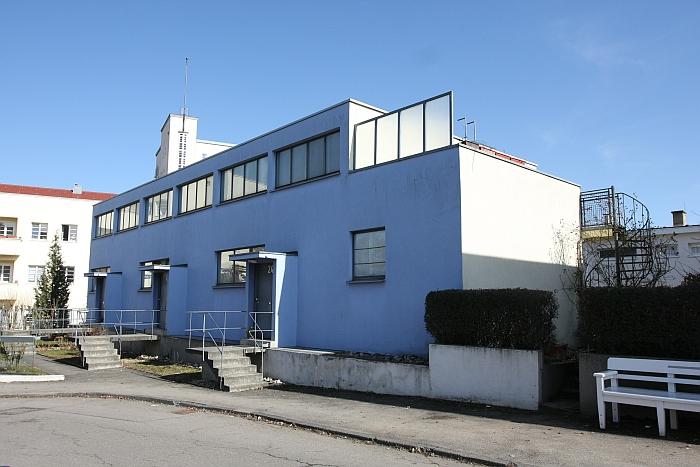 Weissenhofsiedlung Stuttgart Houses 28 29 30 by Mart Stam