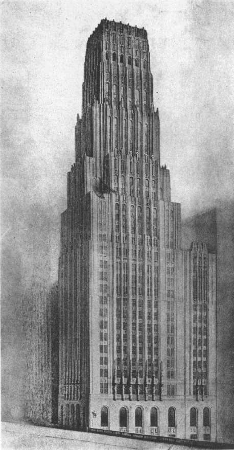 Eliel Saarinen Tribune Tower Chicago