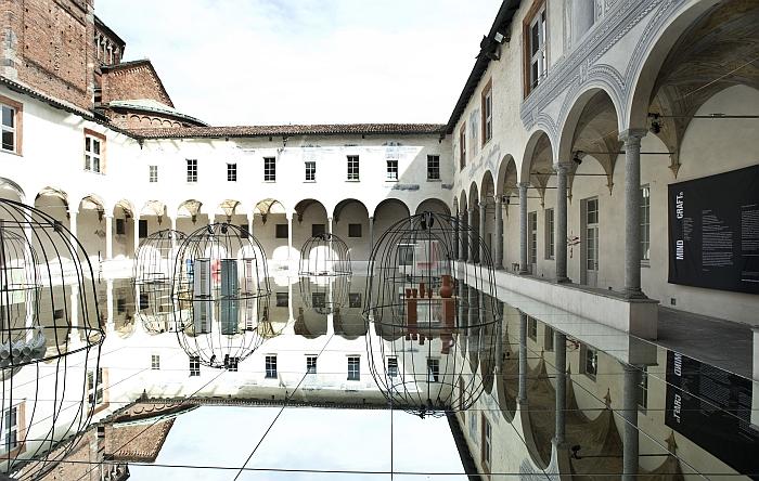 MINDCRAFT15 Chiostro Minore di San  Simpliciano Milan