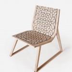 Flexible Wood Lounge Chair by Gunnar Søren Petersen & Malte Licht