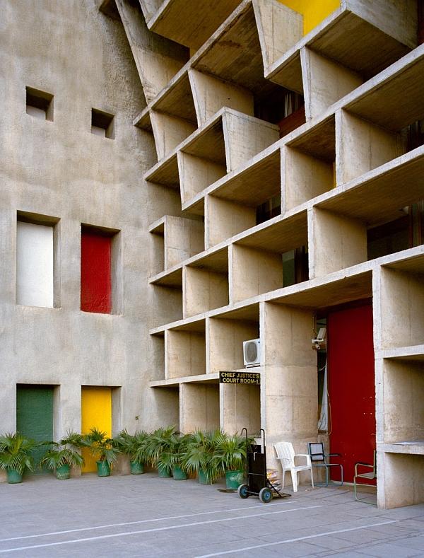 Margret Hoppe Le Corbusier High Court V Chandigarh