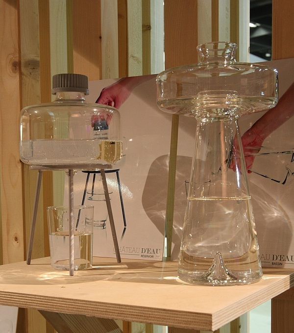Water Carafes by Maud van Deursen Garden Unique Youngstars Cologne 2015
