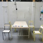 The new even more simple simple steel and wood side chair from Ateliers J&J