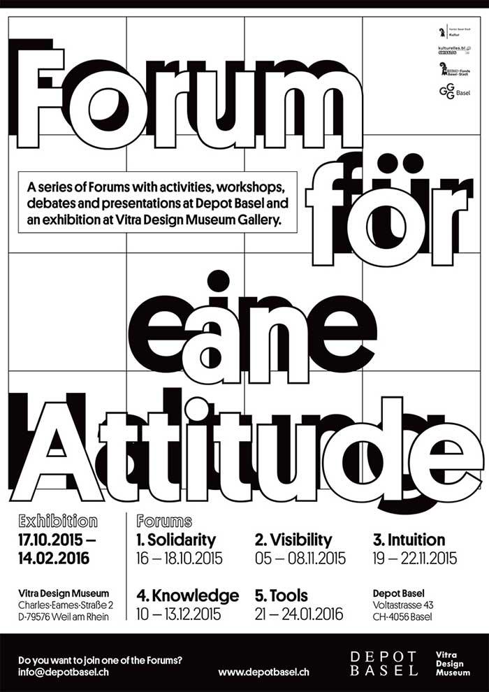 Depot Basel Forum for an Attitude