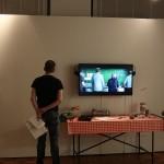 Enjoying Herman the German by Michael Binz, at the Kölner DESIGN Preis 2015 exhibition
