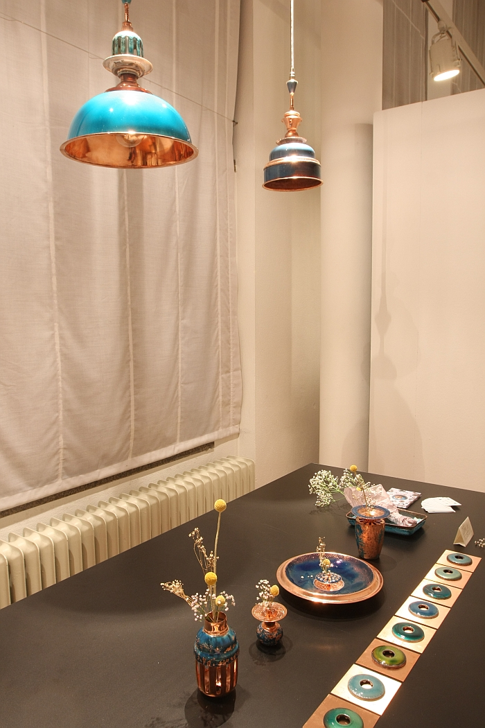 Enamel Experiment by AnHsu, as seen at the Kölner DESIGN Preis 2015 exhibition