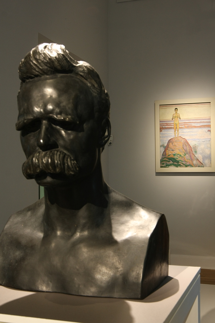 Nietzsche and Nudity. Two pillars of Art Nouveau
