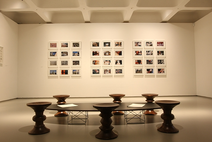 Beautiful ... Barbican Art Gallery London. Photos From India, And Assorted Eames  Furniture, As Seen At The World Of Charles