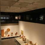 A world of moulded plywood, as seen at The World of Charles and Ray Eames, Barbican Art Gallery London