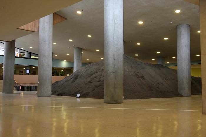 Berlin Excavation by Lara Almarcegui, as seen at Wohnungsfrage, Haus der Kulturen der Welt Berlin