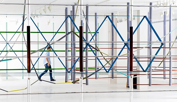 Ronan and Erwan Bouroullec :17 Screens at Tel Aviv Museum of Art (Photo © & courtesy of Studio Bouroullec)