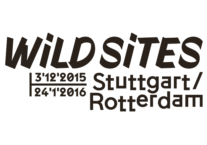 Wild sites . Thomas Rustemeyer Wilde orte in Rotterdam und Stuttgart at the Architekturgalerie am Weißenhof, Stuttgart