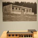 A holiday home for Albert von Metzler by Ferdinand Kramer, as seen at Line Form Function. The Buildings of Ferdinand Kramer, the Deutsches Architekturmuseum, Frankfurt
