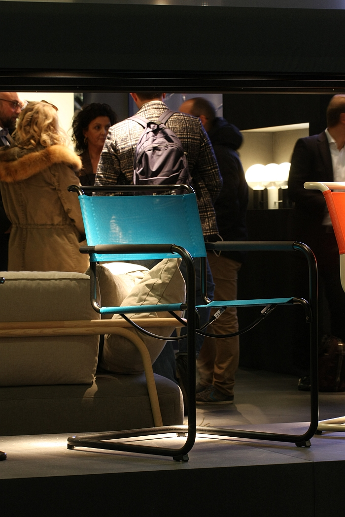 S 34 N, from the Thonet All Seasons Collection, as seen at IMM Cologne 2016