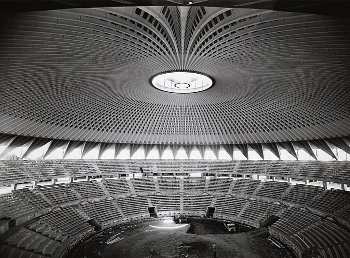 Kuwait Sports Centre by Pier Luigi Nervi