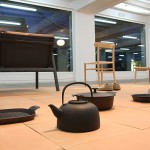 Cast iron table and cookware for Oigen, Japan, as seen at the exhibition A&W Designer of the Year 2016 - Jasper Morrison, Passagen Cologne