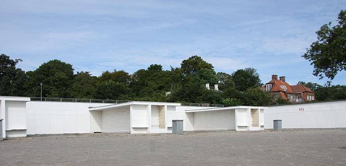 Arne Jacobsen Bellevue Changing cabins