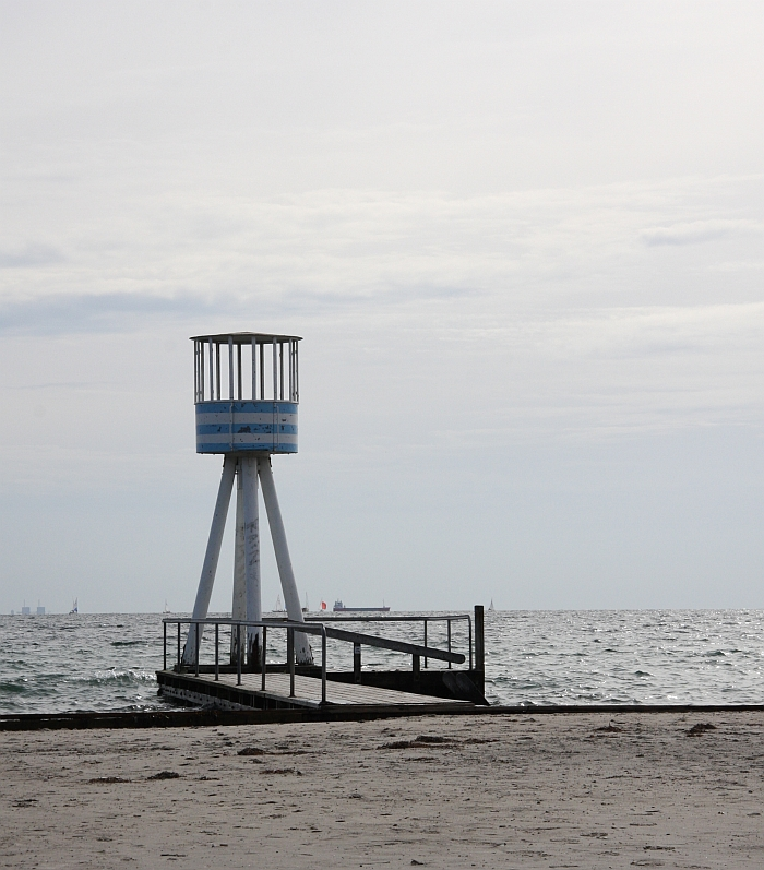 Arne Jacobsen Bellevue Lifeguard Tower