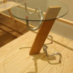 Handlebar Table by Jasper Morrison, as seen at Thingness, Museum für Gestaltung Zürich