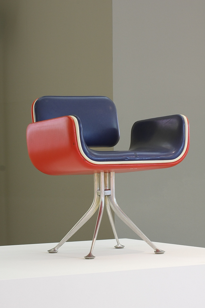 .....then again.... A 1996 chair design by Alexander Girard for L'Etoile, New York, as seen at Alexander Girard. A Designer's Universe, Vitra Design Museum