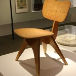 A plywood chair from 1944 by Alexander Girard, perhaps furniture design wasn't his strong point....