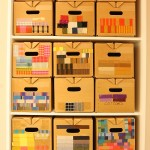 ....you really, really wouldn't want it any other way. Alexander Girard's material sample boxes, as seen at Alexander Girard. A Designer's Universe, Vitra Design Museum
