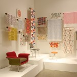 Furniture and textile designs by Alexander Girard for Herman Miller, as seen at Alexander Girard. A Designer's Universe, Vitra Design Museum