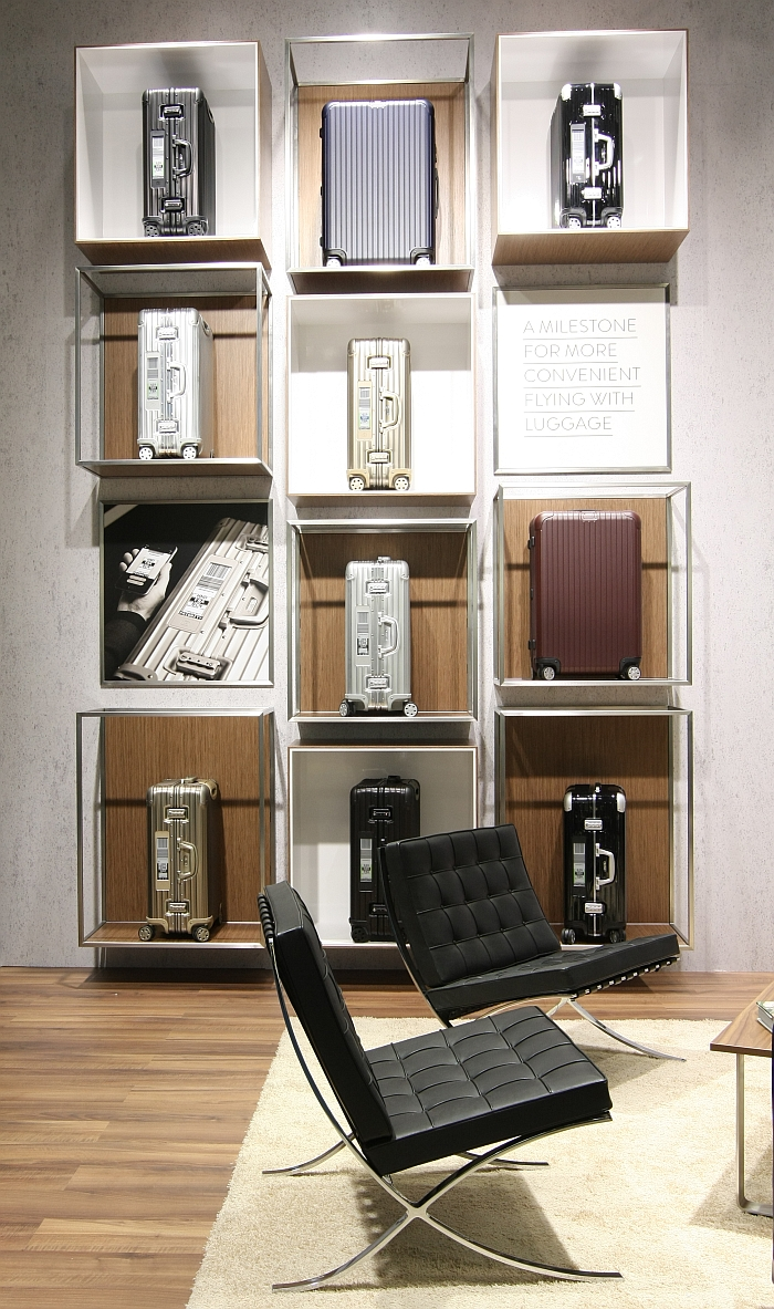 Rimowa at Passenger Terminal Expo 2016 Cologne.... and already thinking about Barcelona....