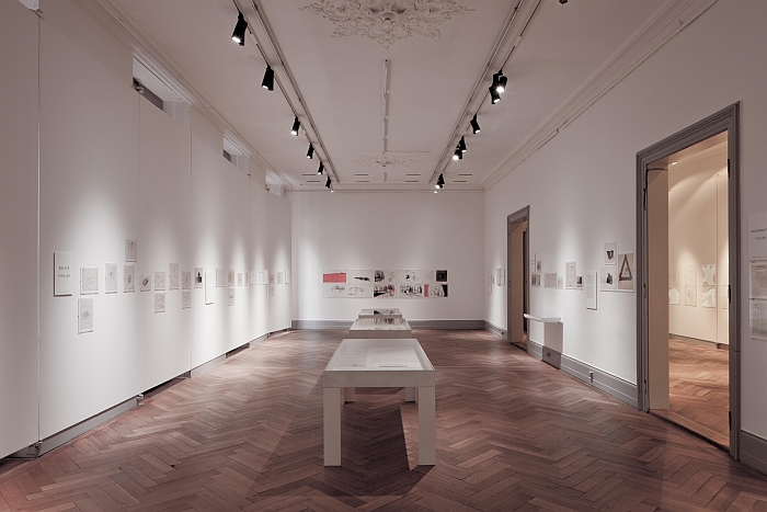 This was Tomorrow. Reinventing Architecture 1953-1978 at the Swiss Architecture Museum, Basel (Photo Christian Kahl, Courtesy of S AM Schweizerisches Architekturmuseum)